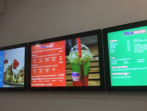 Digital Menu Tv Screens