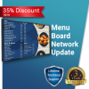 Network Digital Menu Board