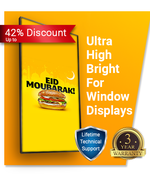 Ultra High Bright Digital Menu Board